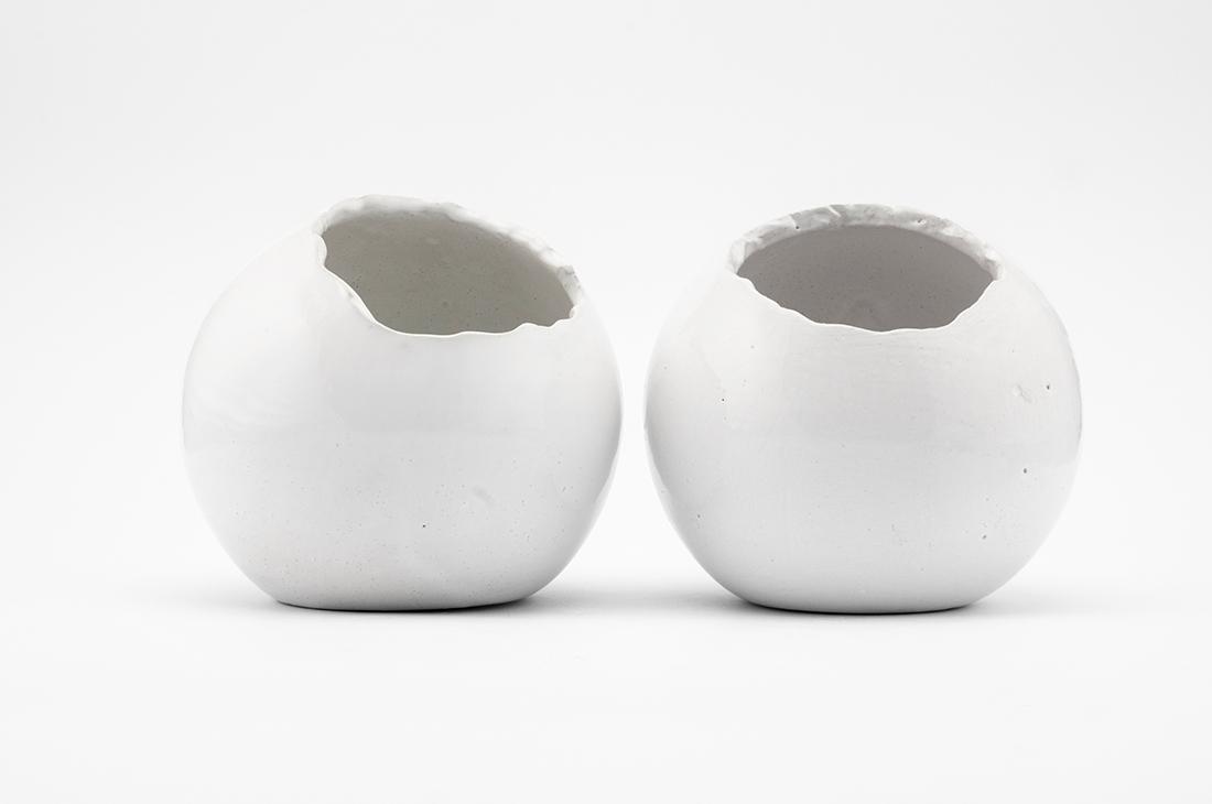 ceramica vasi tondi