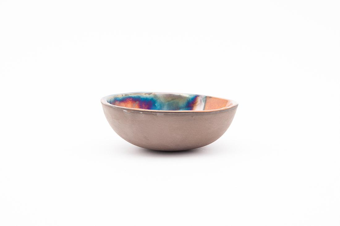 ciotolina ceramica lavorazione metallica