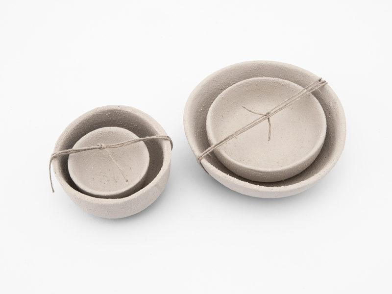 ciotole ceramica sabbia